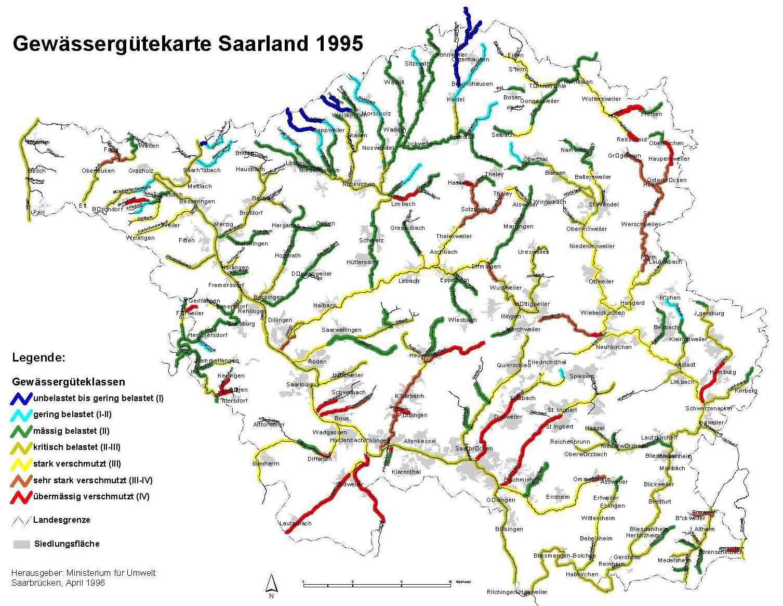 Atlas of Saarland